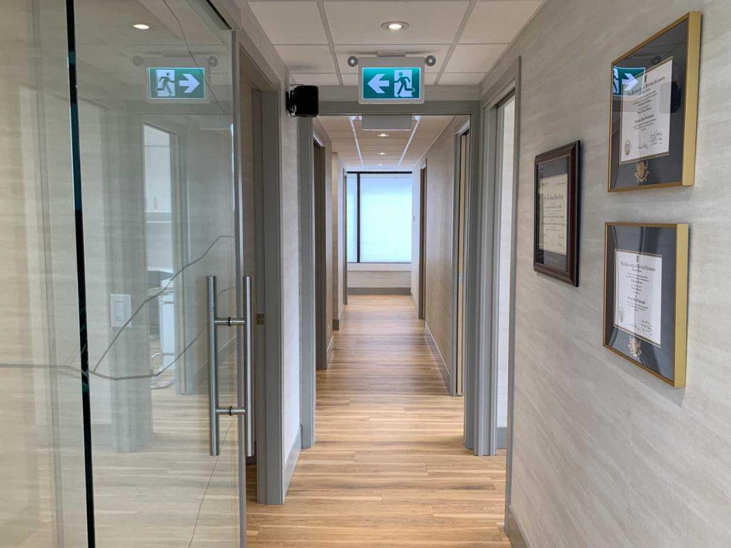 Vancouver Oral Surgery   Hallway